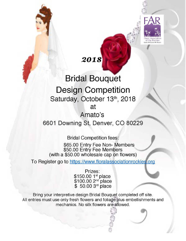 Bridal Competition flyer